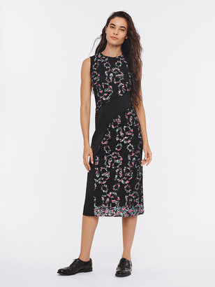 Diane von Furstenberg Miko Lace Midi Dress