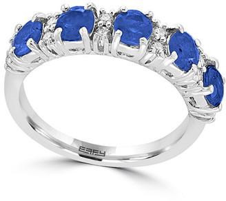 Effy Fine Jewelry 14K 1.80 Ct. Tw. Diamond & Sapphire Ring