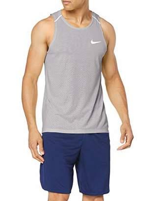 Nike Men's M Nk Brthe Rise 365 Tank T-Shirt,L