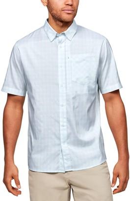 Under Armour Men's High Tide Plaid Button-Down Shirt