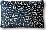 Dransfield and Ross Le Leopard 18x12 Pillow, Sapphire
