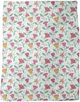 uneekee Floral Sweetness Fleece Blanket