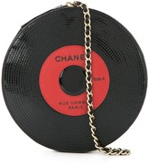 Chanel Pre Owned 2003-2004 sequinned vinyl bag