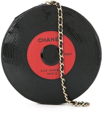 Chanel Pre Owned 2003-2004 Sequinned Vinyl Bag
