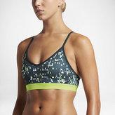 Nike Pro Indy Techno Glitch Women's Light Support Sports Bra