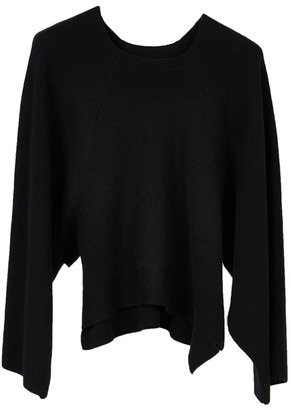 Oyuna Cloe Knitted Wool Blend Pullover In Star Black