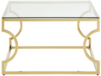 Premier Housewares Allure Curved Coffee Table