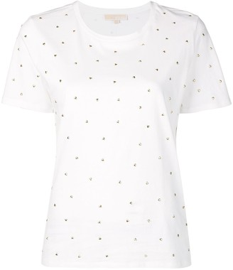 MICHAEL Michael Kors heart stud T-shirt