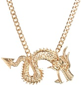 Asos Statement Dragon Necklace