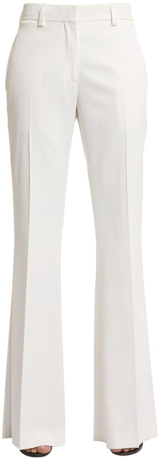 Calvin Klein Collection Stretch Matte Viscose Pants