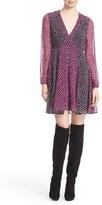 Diane von Furstenberg Women's 'Ivetta' Silk Babydoll Dress