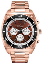 Caravelle New York The Sports Chrono Collection Chronograph Rose Goldtone Bracelet Watch