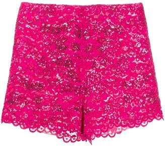 Giuseppe di Morabito Sequin Lace Shorts