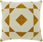 Christina Lundsteen Hannah Square Cotton Velvet Pillow