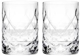 True Fabrications Set Of 2 Double Old Fashioned Glasses