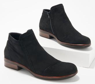 Naot Footwear Nubuck Leather Ankle Boots- Nefasi