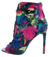 Brian Atwood Linford Printed Ankle Boots w/ Tags