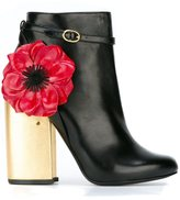 Laurence Dacade 'Mirabelle' boots - women - Calf Leather/Leather - 36