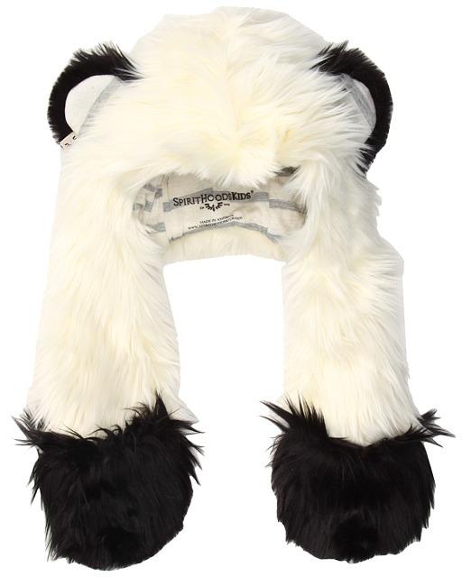 Spirit Hoods SpiritHoods - Baby Panda (Newborn 0-12 Months) (White/Black) - Hats