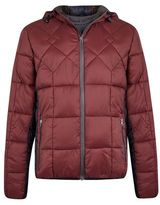 Burton Burton Blend Burgundy Quilted Hooded Jacket*