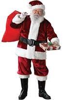 Rubie's Costume Co Crimson Regency Plush Adult Santa Suit