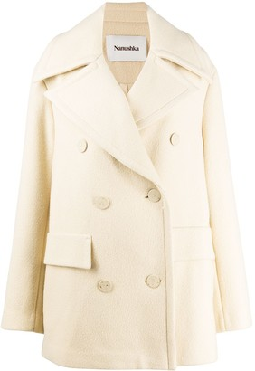 Nanushka Tommi double-breasted coat