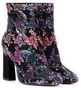 Roger Vivier Bootie Chunky sequin-embellished ankle boots
