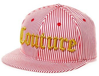 Juicy Couture Couture Stripe Baseball Hat