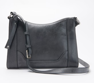 Frye Leather Melissa Zip Crossbody