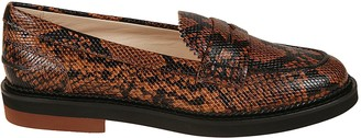 Tod's Tods Snake Print Loafers