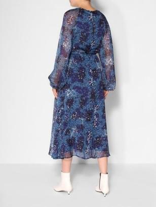 Essentiel Antwerp Saltnpepa dress - 34 | silk | blue moon - Blue moon