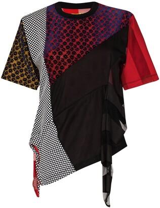 Marques Almeida reMAde patchwork T-shirt