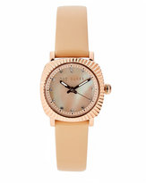 Ted Baker 10025304 Rose Gold-Tone & Cream Watch
