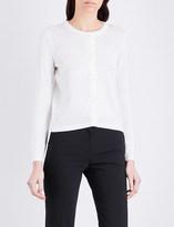 Claudie Pierlot Millie ditsy cotton-blend cardigan