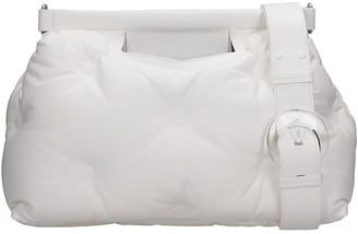 Maison Margiela Shoulder Bag In White Leather