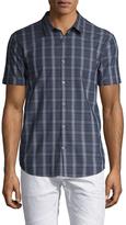 John Varvatos Short Sleeve Printed Sportshirt