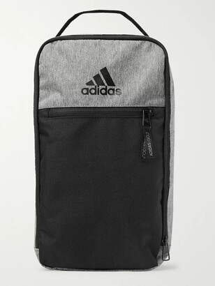 adidas Logo-Print Colour-Block Shell Golf Shoe Bag