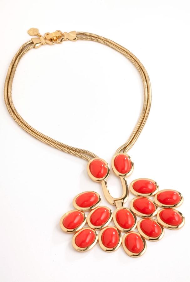 Trina Turk Cabochon Necklace