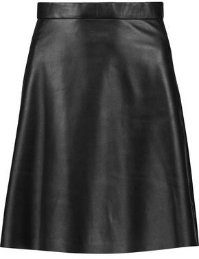 Muu Baa Muubaa Pannala Leather Mini Skirt