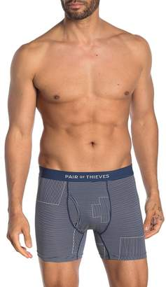 Trunks Pair Of Thieves Banker's Hours Striped Super Soft Boxer Briefs