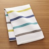 Crate & Barrel Coastal Stripe Dish Towel