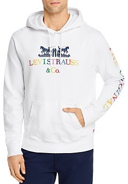 Levi's Embroidered Logo Hooded Sweatshirt