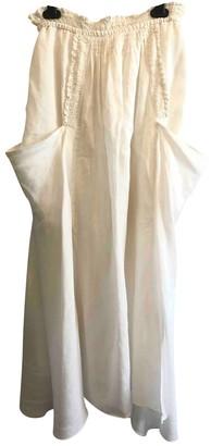 Vanessa Bruno White Linen Skirts