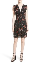 Rebecca Taylor Women's Marguerite Floral Stretch Silk Dress
