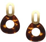 Schiff Marlyn Geo Tortoise Drop Earrings