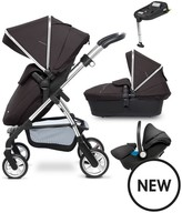 Silver Cross Wayfarer Chrome Complete Travel System And Simplifix Base