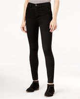 Free People Cyndi Skinny Black Wash Jeans