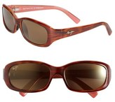 Maui Jim 'Punchbowl - PolarizedPlus ® 2' 54mm Rectangular Sunglasses
