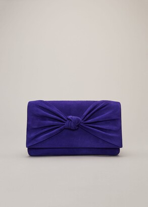 Phase Eight Carrie Knot Front Clutch Bag