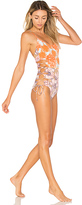 Maaji Say Cheese One Piece in Orange. - size L (also in M)